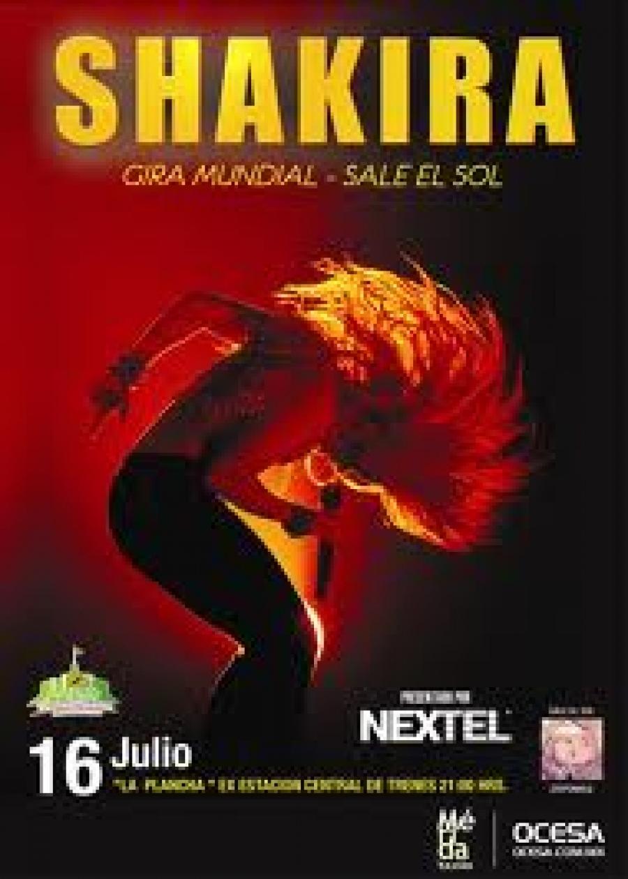 Shakira en Mérida