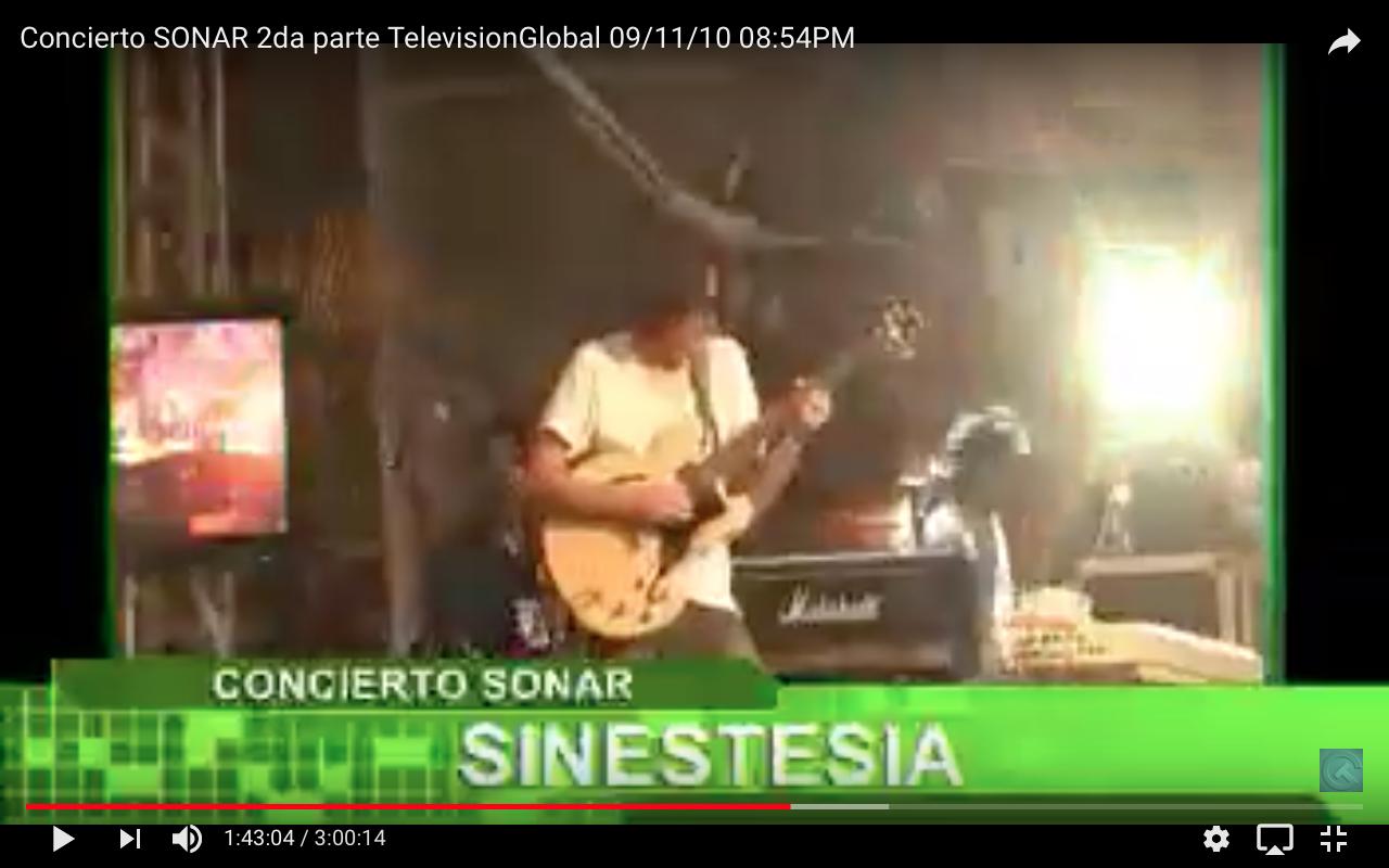 Concierto SONAR 2010